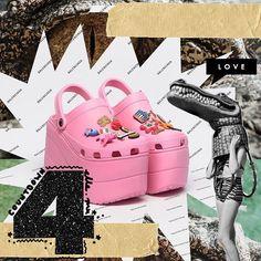 Claro que tenían que estar qué esperaban?  los zapatos más hablados del 2017: Crocs x Balenciaga #ELLEbestfashionmoments #04 #CrocsBalenciaga #Countdown via ELLE MEXICO MAGAZINE OFFICIAL INSTAGRAM - Fashion Campaigns  Haute Couture  Advertising  Editorial Photography  Magazine Cover Designs  Supermodels  Runway Models