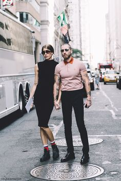 New_York_Fashion_Week-Spring_Summer-2016--Street-Style-Justin_Oshea-Veronika_Heilbrunner-