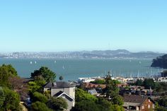 The view from Old St. Hilary's Chapel in Belvedere-Tiburon, CA
