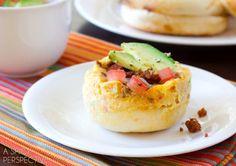Tex-Mex Breakfast Muffins Recipe on Yummly