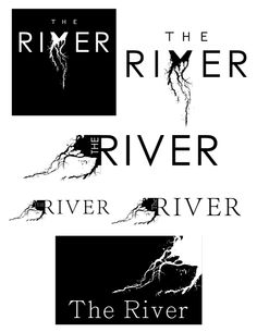 The River Logo by Scott May, via Behance