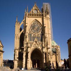 Cathédrale Saint-Étienne de Metz 57