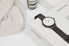 Minimalist, high-quality watches. Swedish designed. German made.