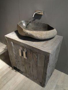 ... stone sink