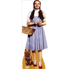 Dorothy & Toto (The Wizard of Oz) Life-Size Standup Poster , 25x61