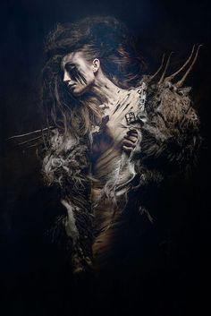 The photography is stunning. So full of movement, sadness, fantasy. Fantasy Photography, Creative Photography, Fine Art Photography, Art Visionnaire, Grandeur Nature, Foto Art, Gothic Art, Dark Fantasy Art, Dark Beauty