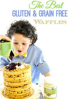 The best Gluten and Grain Free Waffles Paleo Friendly jojoandeloise.com