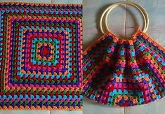 Bag Crochet, Crochet Market Bag, Crochet Shell Stitch, Crochet Wool, Crochet Handbags, Crochet Purses, Love Crochet, Crochet Crafts, Crochet Clothes