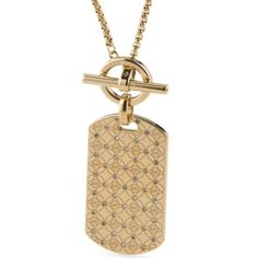 Spotted while shopping on Poshmark: NWT✨ Michael Kors Logo Dog Tag Toggle Necklace! #poshmark #fashion #shopping #style #MICHAEL Michael Kors #Jewelry