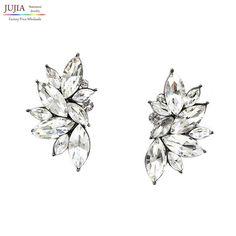 Vintage Design Crystal Earring Women Statement Stud Earrings Fashion Earring 8b60f0aa4006