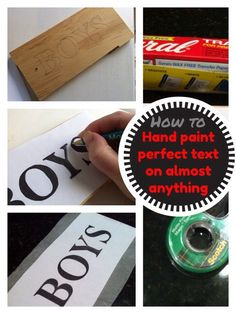 Ever try to create a painted sign, only to end up with squiggly, ugly lettering? Sign artists use rulers and lines to create cool lettering, but use this trick, and your handpainted letters and signs will look professional every time! What you'll need: Saral Transfer Paper A sharp pencil Something to layout and print text …