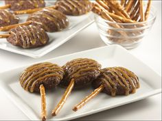Salted Caramel Brownie Pretzel Lollipop
