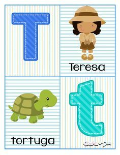 ABECEDARIO PARA IMPRIMIR INGRESAR A LA PÁGINA PARA DESCARGAR ABECEDARIO COMPLETO Preschool Lessons, Preschool Activities, Abc Poster, School Labels, Pre Kindergarten, Letter Activities, Kids And Parenting, Alphabet, Homeschool