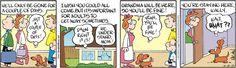 Drabble Comic Strip, April 13, 2015     on GoComics.com
