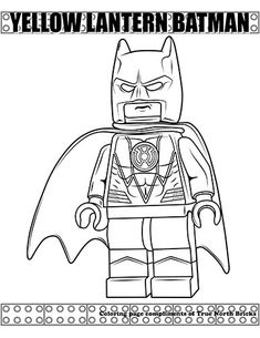 Coloring Page: Green Arrow | FREE LEGO Coloring Pages ...