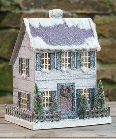Ragon House White Saltbox Figurine | zulily