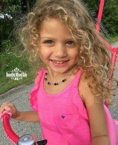 Hazel - 5 Years • Haitian, African American, Native American & Caucasian ❤ FOLLOW @beautifulmixedkids on instagram