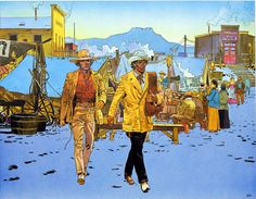 Blueberry 004 (Limited Edition Print) art by Blueberry (Moebius) at The Illustration Art Gallery Jean Giraud, Moebius Comics, Moebius Art, Western Comics, Western Art, Nogent Sur Marne, Science Fiction, Westerns, Book Of Kells