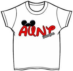 Disney Vacation Aunt Shirt Printed Shirt, Digital Download, Iron On Transfer, Onesie Youth Toddler Infant Adult   b70 by bjklubhouse on Etsy https://www.etsy.com/listing/218858099/disney-vacation-aunt-shirt-printed-shirt
