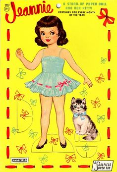 Huge website, my own, The International Paper Doll Society, I love Candy Sis, Betsy McCall, Toots and Casper, Hilda Miloche, Lucy Leary, little Fifties girls with party dresses, and lately old newspaper girls.  Thanks to all the other collectors, and check out my PAPER DOLL paintings too.