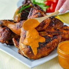 Peri Peri Sauce should be garlicy, spicy, lemony, tangy and utterly addictive. This bright, fresh, fully-flavoured version hits all the right notes.