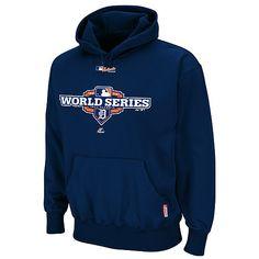 Detroit Tigers Boys//Girls Navy Blue Hoodie Major League Baseball Hoody 8-15Y