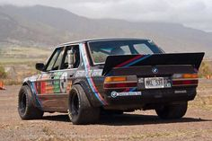 Mean BMW rally car