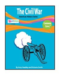 The Civil War is a core aligned reading-based unit with 13 COMPLETE lessons.     We've given students all of the content and a balanced mix of higher and lower level core-aligned activities to learn about the Civil War: A Nation Divided,   The Confederate Army, The Union Army, The Battle of Bull Run, The Western Theater, The Battle of Shiloh,  The Battle for New Orleans, The Eastern Theater, Invasion of the North,  Battles of 1863, Battles of 1864, The End of the Civil War, and Reconstruction.
