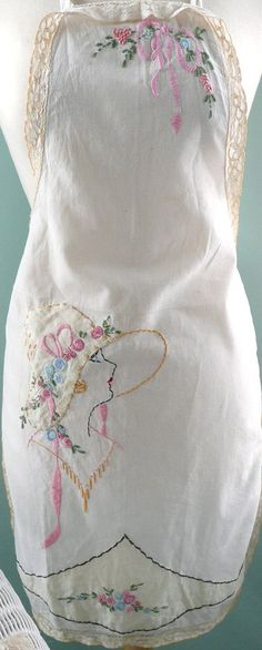 Vintage Apron close~up | by seaside rose garden