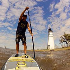Stand-Up Paddle Boarding in St. Tammany Parish Louisiana - VisitSouth.com