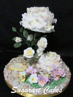 Mums Garden - Cake by Sugarart Cakes