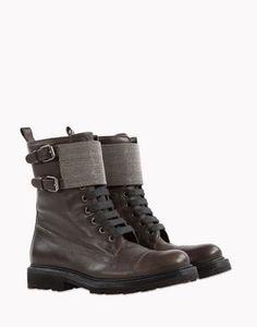 Ankle Boots - Brunello Cucinelli Women on Brunello Cucinelli Online Boutique. Worldwide delivery.