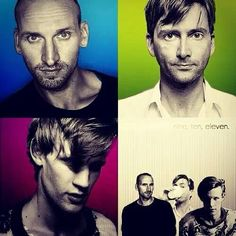 Christopher eccleston  David tennant And matt smith