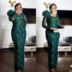 117 Enchanting Asoebi Styles For The Season - AfroCosmopolitan Best African Dresses, African Lace Styles, Latest African Fashion Dresses, African Print Fashion, African Attire, African Wear, Aso Ebi Lace Styles, Lace Gown Styles, Ankara Long Gown Styles