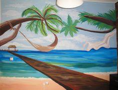 Beach wall art - wall no1 Τοιχογραφίες δωματίων www.wallinart.gr