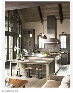 30 Cool Industrial Design Kitchens | Daily source for inspiration and fresh ideas on Architecture, Art and Design