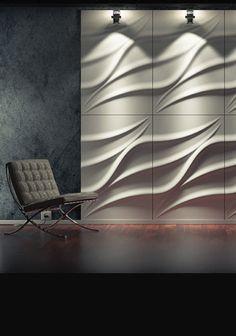 Wavy Wall Panels (113N)