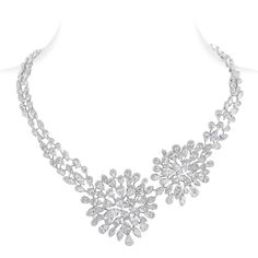The Luminance diamond necklace by Nirav Modi. Discover more from the jewellery designer: http://www.thejewelleryeditor.com/shop/product/nirav-modi-luminance-diamond-necklace-2/ #jewelry