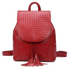 Ms. Travel Genuine Leather Backpack