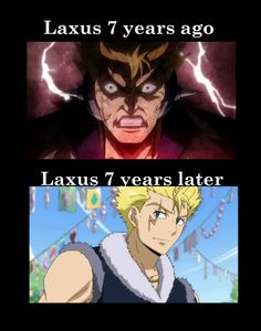 """i remember when i first saw Laxus i said """"he's such a jerk, never gona like him! now he is my favorite character in fairy tail. Manga Anime, Got Anime, Anime Love, Fairy Tail Funny, Fairy Tail Love, Fairy Tail Ships, Laxus Fairy Tail, Fairy Tail Anime, Fairytail"""