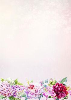 Foto Flower Backgrounds, Wallpaper Backgrounds, Iphone Wallpaper, Wallpapers, Borders For Paper, Borders And Frames, Flowery Wallpaper, Floral Backdrop, Frame Wreath