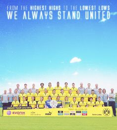 From the highest highs to the lowest lows we always stand united