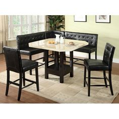 Hokku Designs Milly Counter Height Dining Table & Reviews | Wayfair