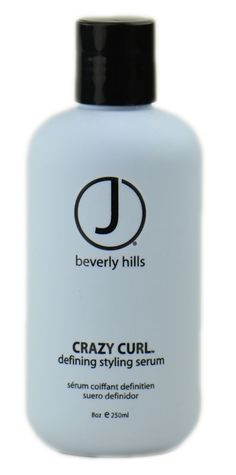 J Beverly Hills Crazy Curl Defining Lotion: CURL SEPARATION TAMES FRIZZ SHINE Formulated with lavender botanical extracts and memory resins to encourage curl retention and defintion on naturally curly and previously permed hair. Enhances curl for fine hair and control for unruly hair.