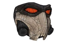 Wanted: Weapons of Fate - Life Size Cross Killer Mask Free Papercraft Download…