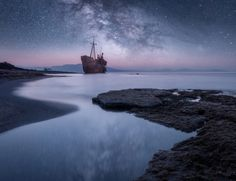 RestleSs Soul VI by stratosgaz Restless Soul, Shipwreck, Photos Of The Week, Landscape Photography, Travel Photography, Niagara Falls, Waterfall, Scene, Beach