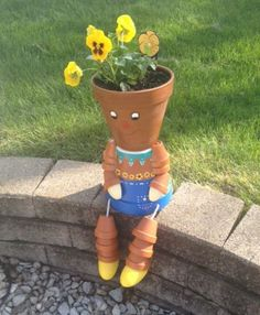 flower pot man - too cute!