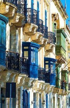 Valletta, Malta-definitely my fav place i visited in malta!