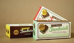 Pop Coulson packaging range. Designer: Cassia The