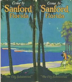 Sanford Brochure,  Florida Ephemera Collection